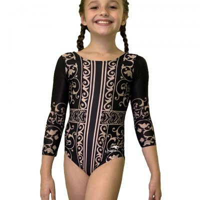 Customized Leotard With Sleeves